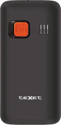 Мобильный телефон TeXet TM-B112 (серый) - задняя панель