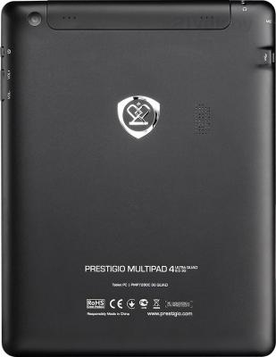 Планшет Prestigio MultiPad 4 Ultra Quad 8.0 3G 16GB 3G (PMP7280D3G_BK_QUAD) - вид сзади