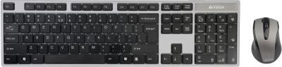 Клавиатура+мышь A4Tech 8100F - общий вид