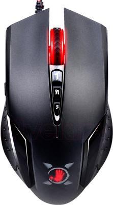 Мышь A4Tech Bloody V5 (черный) - вид сверху