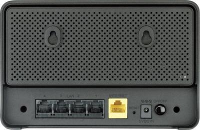 Беспроводной маршрутизатор D-Link DIR-615/K/R1A - вид сзади