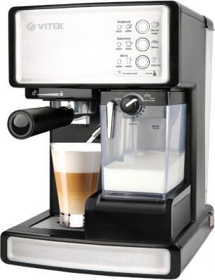 Кофеварка эспрессо Vitek VT-1514 BK - общий вид