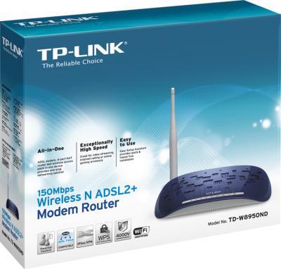 Беспроводной маршрутизатор TP-Link TD-W8950ND - коробка