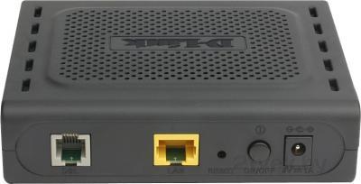 Маршрутизатор/DSL-модем D-Link DSL-2500U/BB/D4A - вид сзади