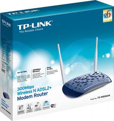 Беспроводной маршрутизатор TP-Link TD-W8960N - коробка