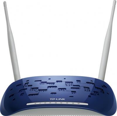 Беспроводной маршрутизатор TP-Link TD-W8960N - фронтальный вид