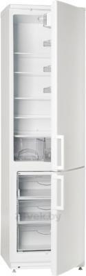 Холодильник с морозильником ATLANT ХМ 4026-100 - с полуоткрытой дверцой