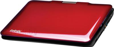 Портативный DVD-плеер BBK PL947TI (темная вишня) - с закрытой крышкой