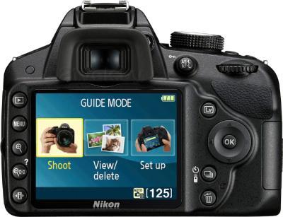 Зеркальный фотоаппарат Nikon D3200 Kit 18-140mm VR - вид сзади