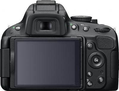 Зеркальный фотоаппарат Nikon D5100 Double Kit 18-55mm VR + 55-200mm VR - вид сзади