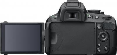 Зеркальный фотоаппарат Nikon D5100 Double Kit 18-55mm VR + 55-200mm VR - общий вид сзади