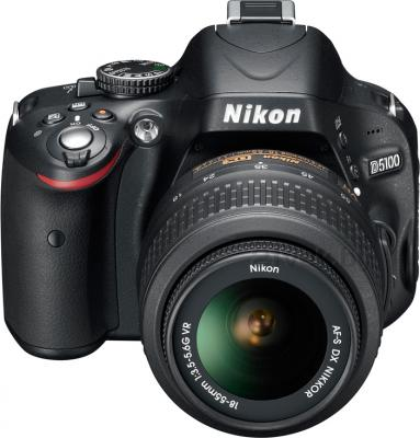 Зеркальный фотоаппарат Nikon D5100 Double Kit 18-55mm VR + 55-200mm VR - общий вид