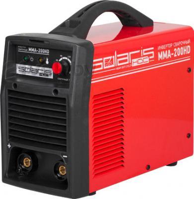 Инвертор сварочный Solaris MMA-200HD + AK - общий вид