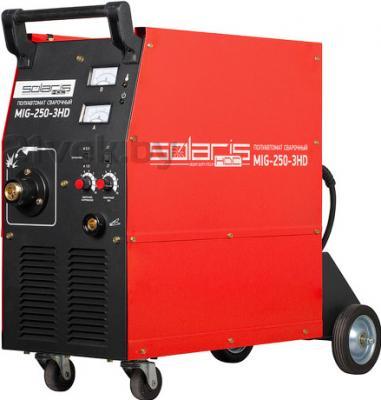 Полуавтомат сварочный Solaris MIG-250-3HD + AK - общий вид