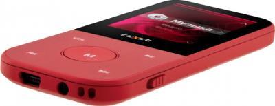 MP3-плеер TeXet T-15 (8GB, красный) - общий вид