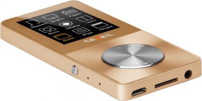 MP3-плеер TeXet T-60 (8GB, золотой) - общий вид