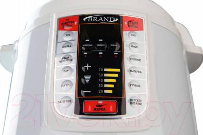 Мультиварка-скороварка Brand 6051 (белый)