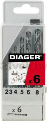 Набор сверл Diager Standard 750С (6 предметов) - общий вид