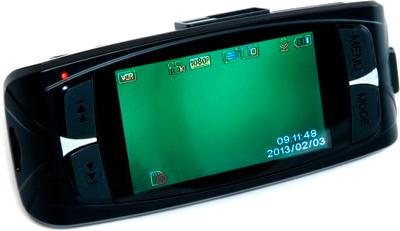 Автомобильный видеорегистратор Geofox LS 300W - дисплей