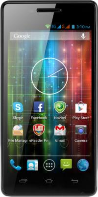 Смартфон Prestigio MultiPhone 5450 Duo (черный) - общий вид