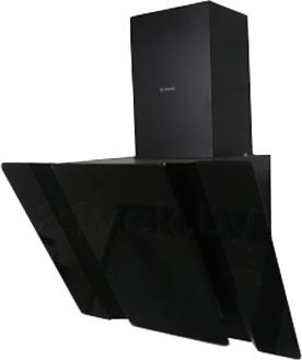Вытяжка декоративная Ciarko Specjal Star 60 Touch Control (черное стекло) - общий вид