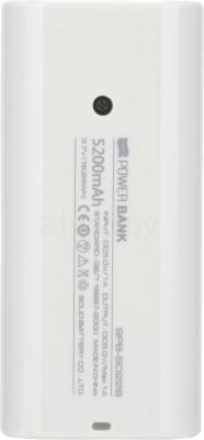 Портативное зарядное устройство Atomic SD226 (White) - вид сзади
