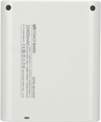 Портативное зарядное устройство Atomic SD426 (White) - вид сзади