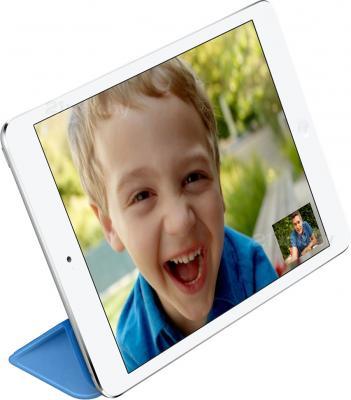 Чехол для планшета Apple iPad Mini Smart Cover MF060ZM/A (синий) - использование как подставки
