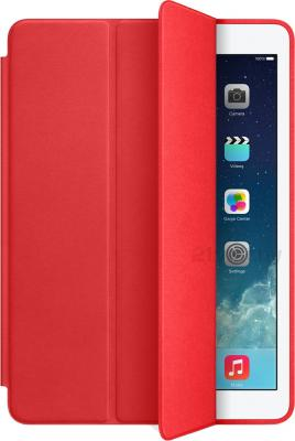 Чехол для планшета Apple iPad Air Smart Case MF052ZM/A (Red) - общий вид