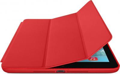 Чехол для планшета Apple iPad Air Smart Case MF052ZM/A (Red) - с черным айпадом