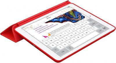 Чехол для планшета Apple iPad Air Smart Case MF052ZM/A (Red) - в сложенном виде