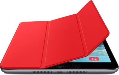 Чехол для планшета Apple iPad Mini Smart Cover MF394ZM/A (красный) - с черным айпадом