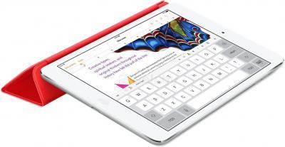 Чехол для планшета Apple iPad Mini Smart Cover MF394ZM/A (красный) - в сложенном виде