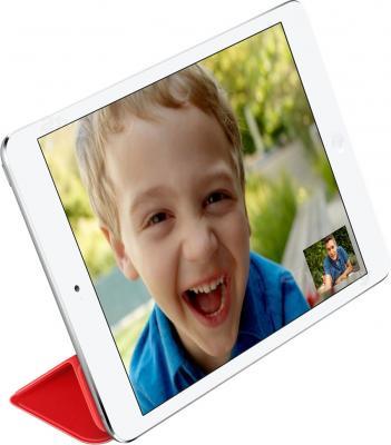 Чехол для планшета Apple iPad Mini Smart Cover MF394ZM/A (красный) - в форме подставки