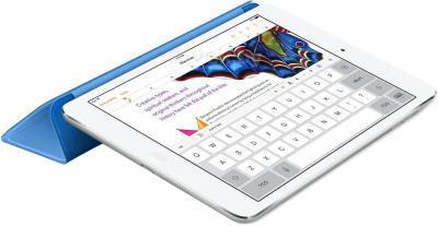 Чехол для планшета Apple iPad Air Smart Cover MF054ZM/A (Blue) - в сложенном виде