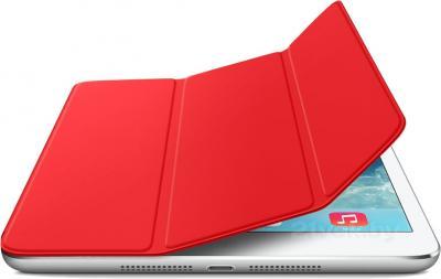 Чехол для планшета Apple iPad Air Smart Cover MF058ZM/A (Red) - с белым айпадом