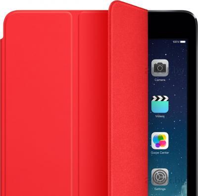 Чехол для планшета Apple iPad Air Smart Cover MF058ZM/A (Red) - крупным планом
