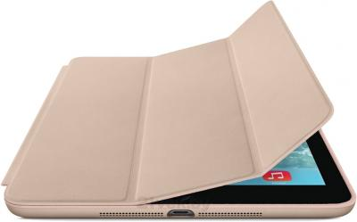 Чехол для планшета Apple iPad Mini Smart Case ME707ZM/A (Beige) - с черным айпадом