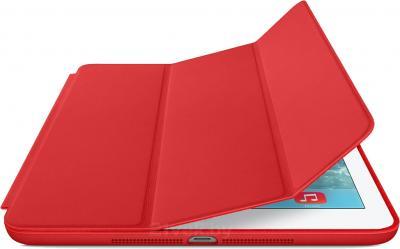 Чехол для планшета Apple iPad Mini Smart Case ME711ZM/A (красный) - с белым айпадом