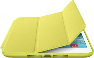 Чехол для планшета Apple iPad Mini Smart Case ME708ZM/A (Yellow) - с белым айпадом