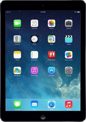 Планшет Apple iPad mini 64GB 4G Space Gray (ME828TU/A) - фронтальный вид
