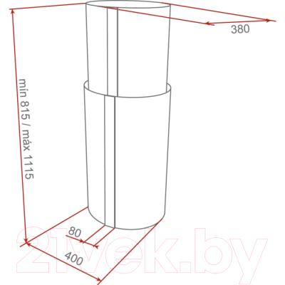 Вытяжка коробчатая Teka CC 40 ISLA / 40480300