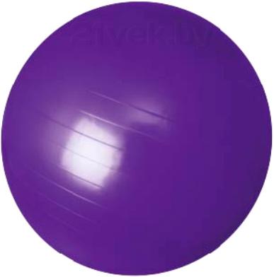 Фитбол гладкий Motion Partner MP571 (фиолетовый) - общий вид