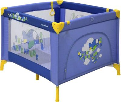 Игровой манеж Lorelli Play Station (Blue Sky Adventure) - общий вид