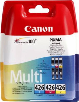 Комплект картриджей Canon CLI-426 C/M/Y Multipack - общий вид