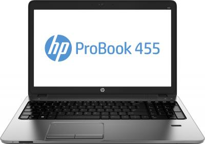 Ноутбук HP ProBook 455 G1 (F7Y69ES) - фронтальный вид