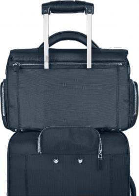 Сумка для ноутбука Piquadro Link (CA1044LK/BLU2) - крепление на чемодане