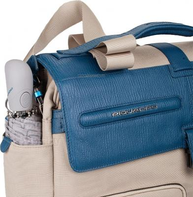 Сумка для ноутбука Piquadro Signo (CA1045SI/SAAV) - боковой карман с зонтом