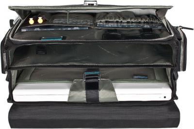 Сумка для ноутбука Piquadro Link (CA1095LK/N) - в раскрытом виде
