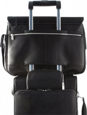 Кейс для ноутбука Piquadro Modus (CA1228MO/N) - крепление на чемодане